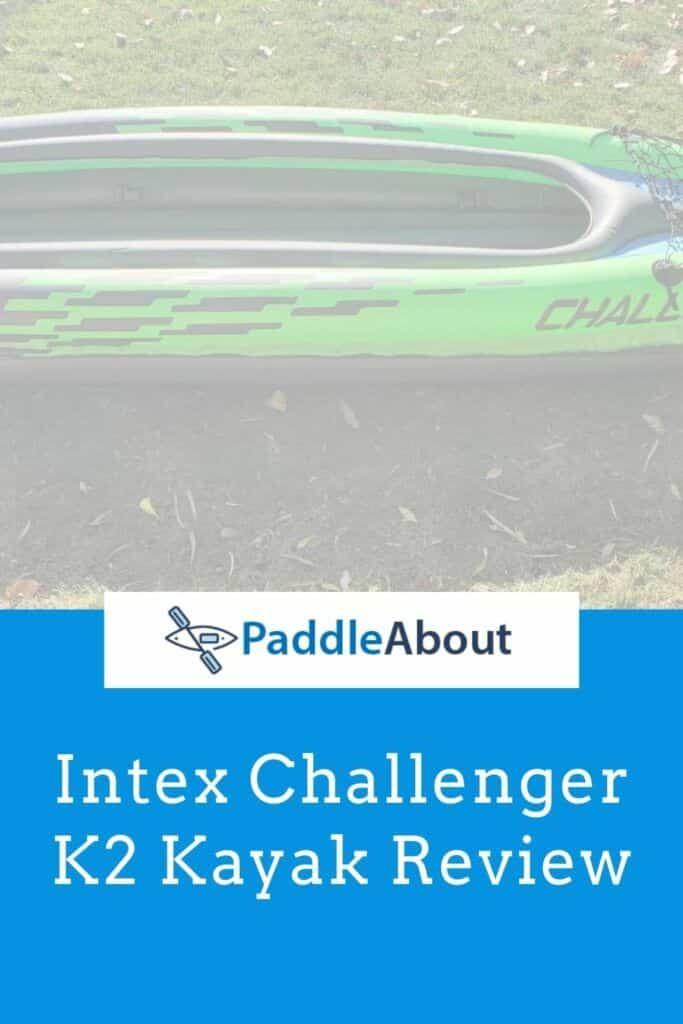 Challenger K2 kayak - K2 inflated sitting on grass