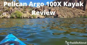 Pelican Argo 100X Kayak Review - Sunny day kayaking