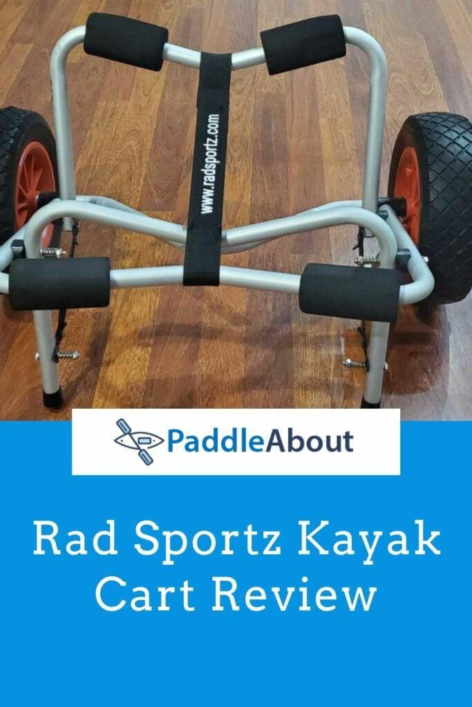 Rad Sportz Kayak Cart Trolley Review