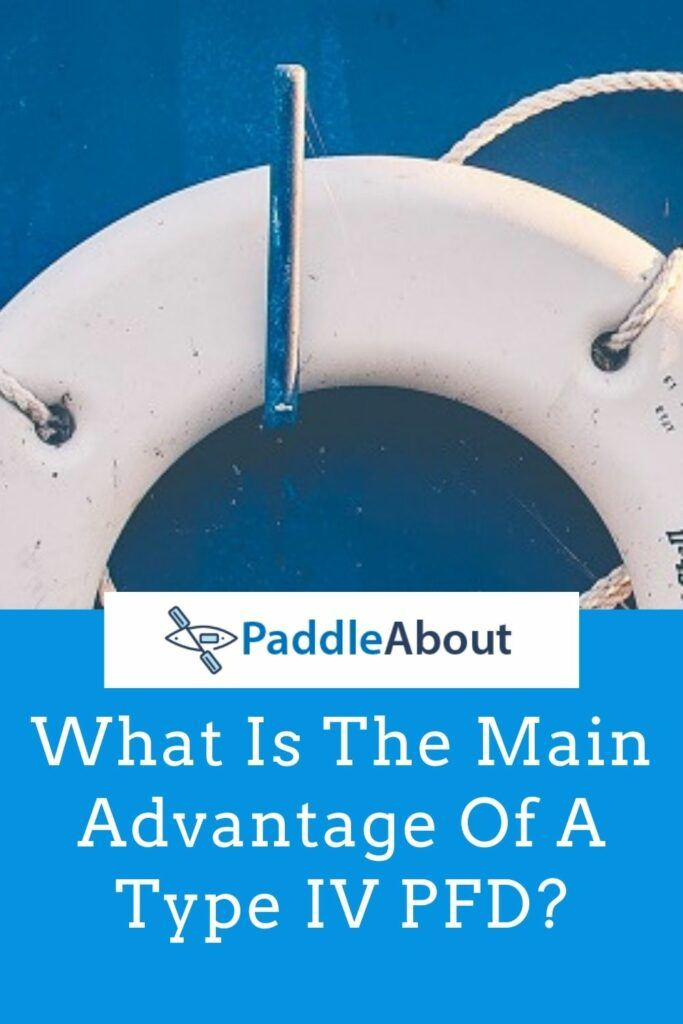 Main Advantage of a Throwable PFD - White Ring Buoy
