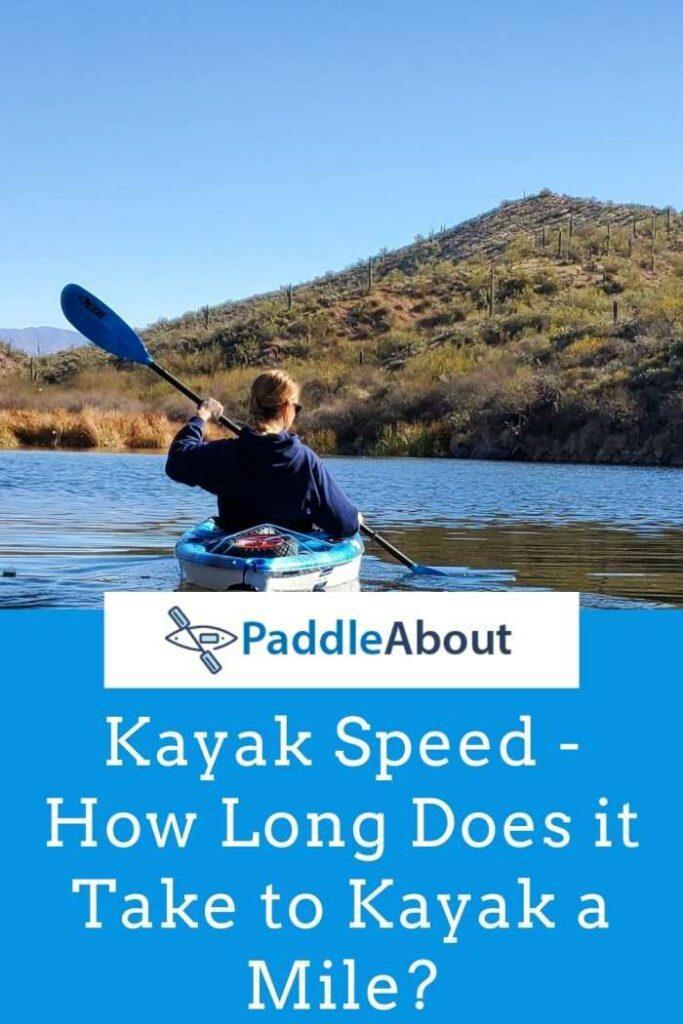 Kayak Speed - Kayaker on a lake