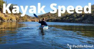 Kayak Speed - Kayaking on a calm lake