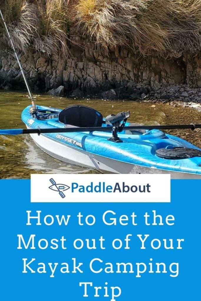 Kayak camping guide - kayak on the beach
