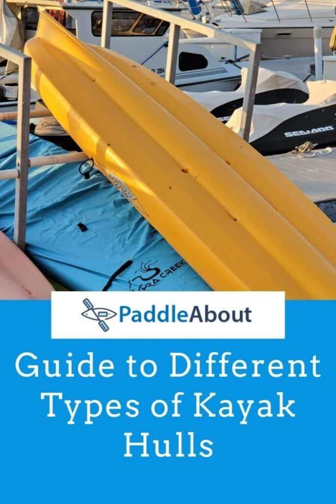 Kayak hull guide