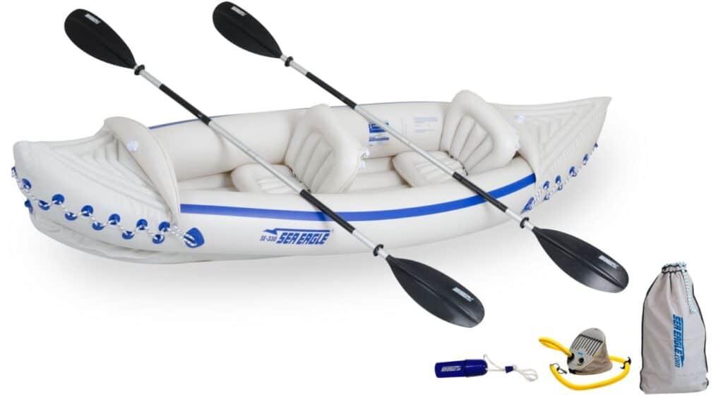 Sea Eagle 330 kayak - Tandem setup