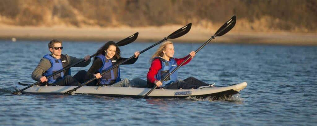 Best three person kayak - Sea Eagle 465ft FastTrack