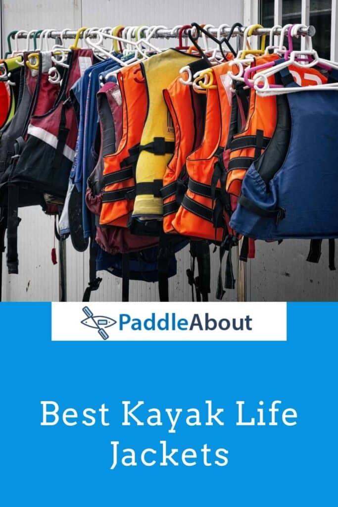 Best Kayak PFD - PFD hanging on a rack