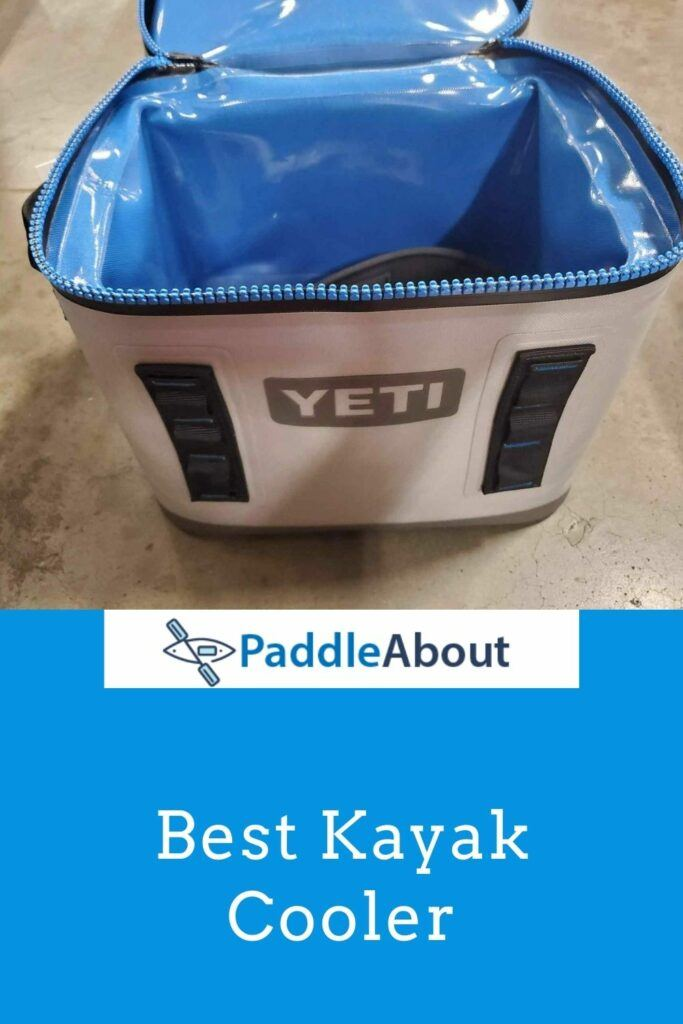 Best cooler for kayaking - Yeti soft sided cooler ready to use