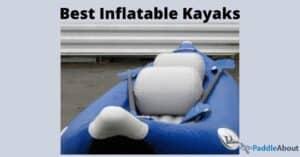 Best inflatable kayak - Blue inflatable kayak