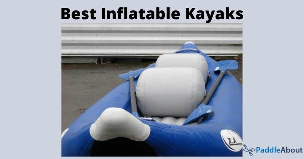 Best inflatable kayak - Blue inflatable kayak