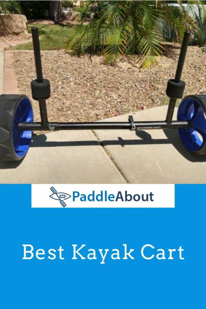 Best kayak cart - scupper mount kayak cart