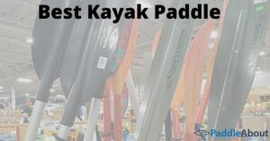 Best kayak paddle - Paddles in a store