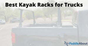 Best kayak racks for trucks - Kayak rack on the bed of a pickup