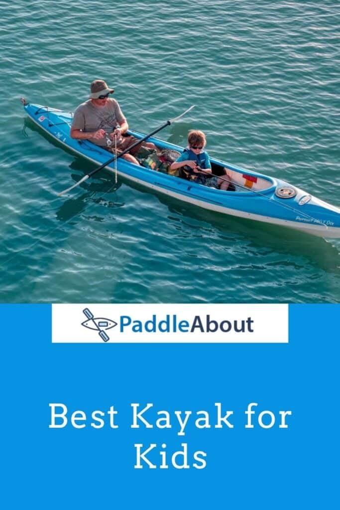 Best kids kayak - Child fishing from a kayak