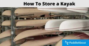 How To Store A Kayak - Multiple kayaks on a rack