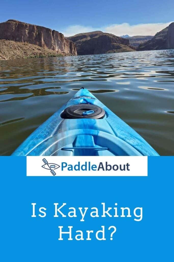 How Hard is Kayaking - Nice day kayaking on a calm lake