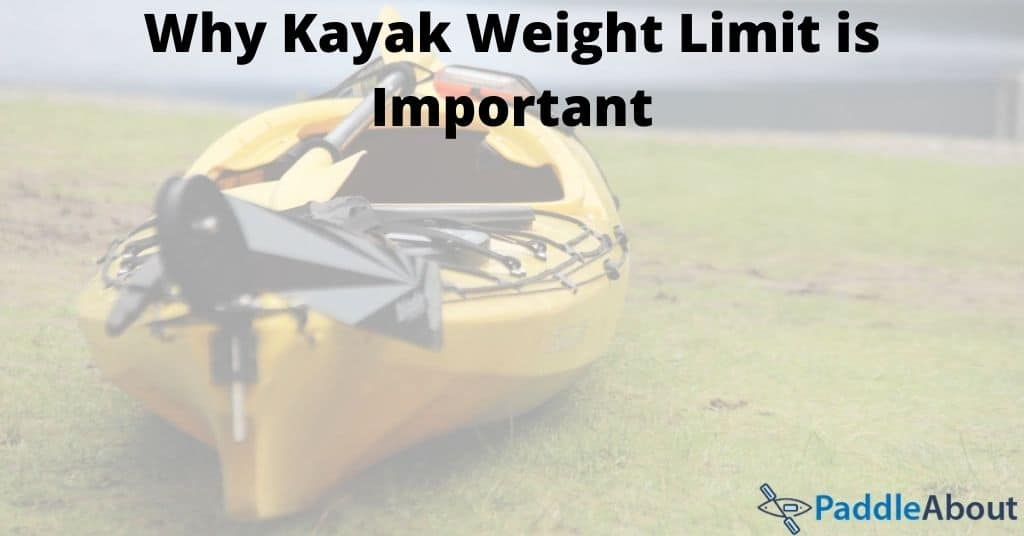 Kayak weight limit - yellow kayak on the grass