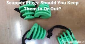 Scupper Plugs - Set of four green scupper plugs