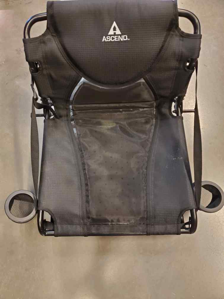 Ascend kayak seat
