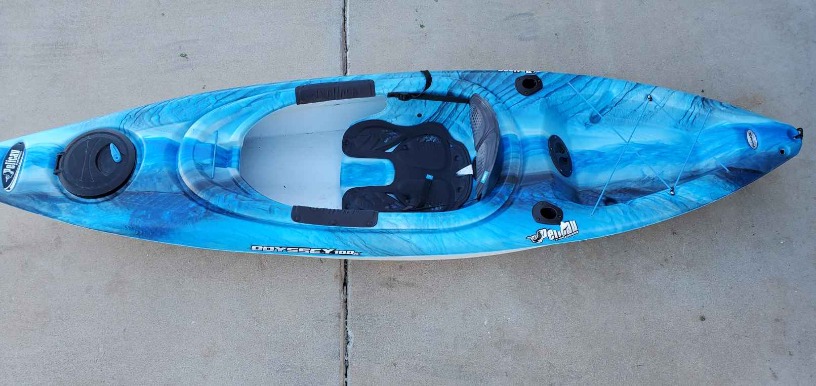 Sit-inside kayak example