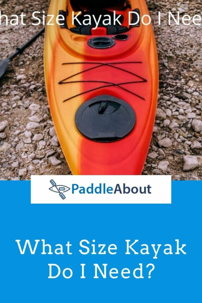 What size kayak do i need - multicolored kayak on the beach